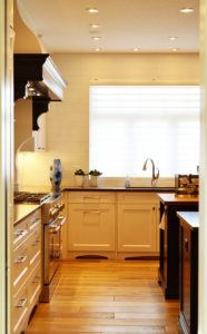Kitchen, yellow color
