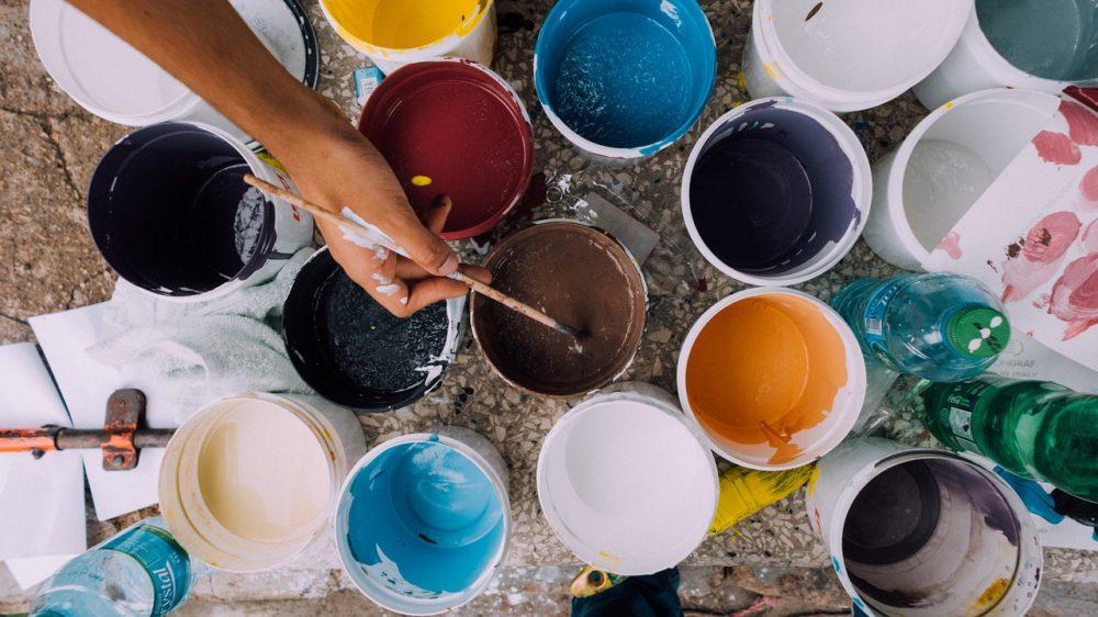 painting colors, colors, painter, paint
