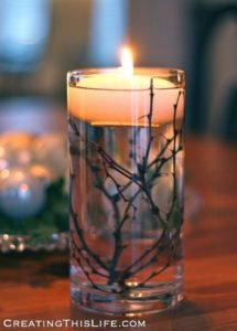 twigs candle