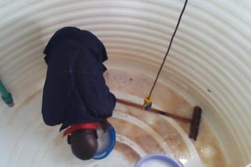 Water tank cleaning services in zirakpur