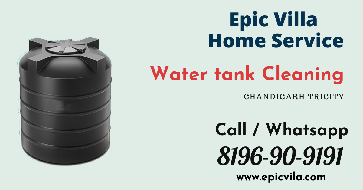 water tank cleaning in mohali chandigarh